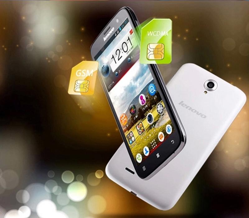 Lenovo A850 RAM 1GB ROM 4GB S Smartphone 3G Avec Ecran De